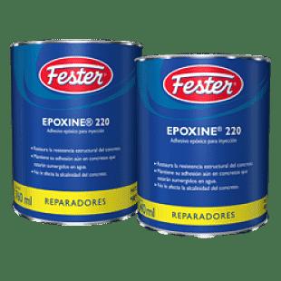 Fester epoxine 220 en un adhesivo y reparador epóxico para inyección.