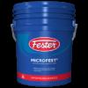 Impermeabilizante fester microfest asfáltico base agua de usos múltiples.