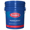 Impermeabilizante fester microlastic asfáltico elastomérico reforzado con fibras.