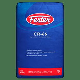 Impermeabilizante fester cr-66 cementoso súper elástico.