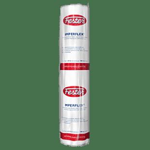 Membrana fester imperflex de refuerzo para sistemas impermeables asfálticos base agua y base solvente.