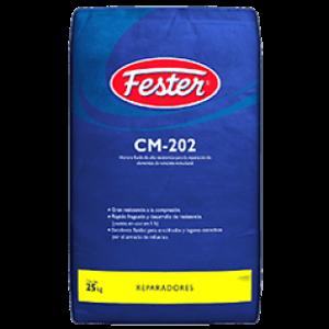 Fester cm 202 es mortero fluido de alta resistencia para la reparación de elementos de concreto estructural.