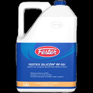 festex silicón rp-501 es un repelente y anti-musgo base agua para muros exteriores e interiores.
