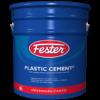 sellador fester plastic cement para fisuras y puntos críticos en sistemas impermeables.