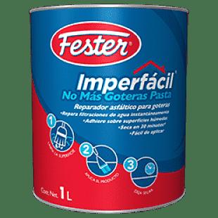 Imperfácil no más goteras pasta es un reparador asfáltico para goteras