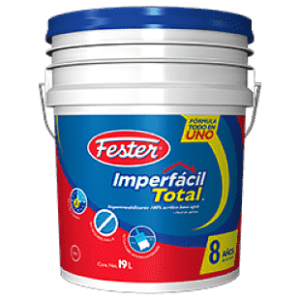 Imperfacíl total es un impermeabilizante 100% acrílico base agua